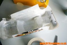 A quick and easy way to reinforce Lexan RC Car Bodyshells.