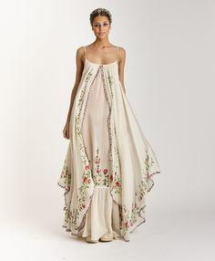 Wedding Boho Chic Dress Gowns Ideas For 2019 Look Boho, Bohemian Style, Gypsy Style, Boho Fashion, Fashion Dresses, Fashion Design, Unique Fashion, Boho Dress, Dress Up