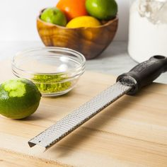 This is a tool that we reach for over and over again in our test kitchen. The zester-grater makes quick work of any task at hand.