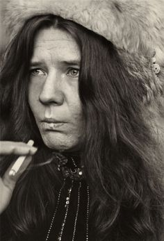 Linda McCartney Photographs: Janis Joplin - 1967--okay, she might have only been in her twenties, but I think she qualifies as an honorary crone...