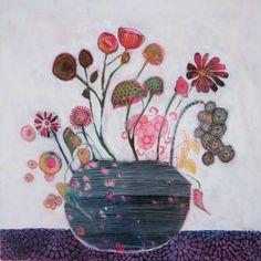 """Saatchi Art Artist Sandrine Pelissier; Painting, """"Feeling Good"""" #art"""