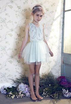 Tutu Du Monde Turn Back Time Tutu in Duck Egg (flowergirl outfit?)