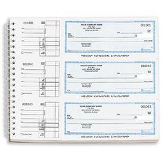 DFC-145, Wire Bound General Expense Checks