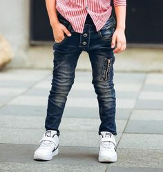 Department Name: ChildrenItem Type: JeansBrand Name: dangdangshuPattern Type: PatchworkGender: BoysStyle: CasualWaist Type: MidFit: Fits true to size, take your Toddler Boy Jeans, Boys Pants, Legging Jean, Clothes 2018, Denim Jeans Men, Cotton Pants, Leggings, Kids Outfits, Skinny Jeans