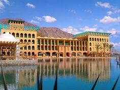 Taba Heights resort, Sinai, Egypt