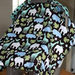 Loads of baby projects from www.tipnut.com incl changing mats, slings and car seat covers