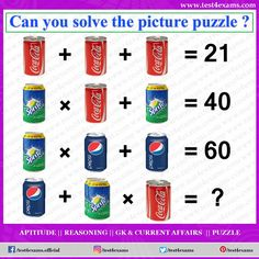 Can you solve the picture puzzle ? Get more brain teaser puzzle number puzzle alphabet puzzle and picture puzzle on Test 4 Exams. We collected fantastic puzzle games for you and your family or friends. Picture Puzzles Brain Teasers, Brain Teasers Pictures, Brain Teasers Riddles, Brain Teaser Puzzles, Number Puzzles, Logic Puzzles, Fun Math, Math Games, Guess The Emoji Answers