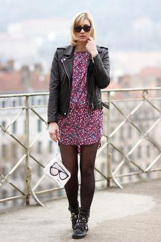 Spring Rock / artlex, fashion, fashionblogger, karl marc John, look, ootd, print dress, spring summer 2014, streetlook @Karl Marc John