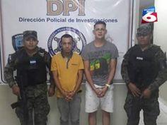 Policía captura a dos hombres por portación ilegal de armas en La Ceiba