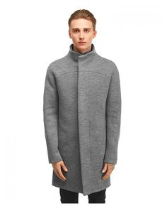 Shop the Ghost Grey Wool Coat from Fusion Clothing & more rising brands at Flagship. Free shipping, easy returns.