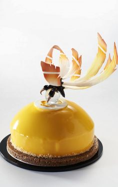 claire heitzler Fancy Desserts, Delicious Desserts, Food Carving, Pastry Art, Dessert Decoration, Chocolate Art, Little Cakes, Mini Cakes, Plated Desserts