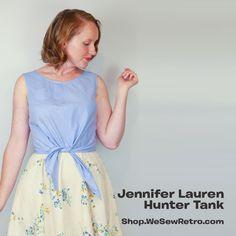 Jennifer Lauren Hunter Tank PDF Sewing Pattern