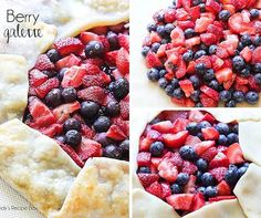 This Berry Galette is simple and beautiful!
