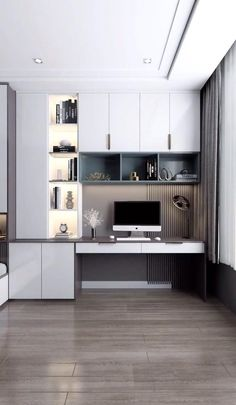 Small Room Design Bedroom, Small Bedroom Interior, Small House Interior Design, Small Apartment Design, Bedroom Closet Design, Bedroom Furniture Design, Home Room Design, Modern House Design, Cool Room Designs