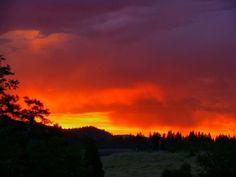 Mount Shasta Sunset   Sunset Near Mt. Shasta, California   fotos   Pinterest
