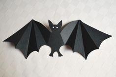 Fledermaus basteln - Kinderspiele-Welt.de