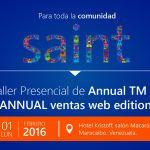 Taller Presencial de Annual TM y Annual Ventas Web edition (pedidos y …).
