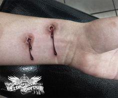 chris brown tattoos on my neck song Tattoo Life, I Tattoo, Pretty Tattoos, Beautiful Tattoos, Cool Tattoos, Tatoos, Gothic Tattoo, Dark Tattoo, Bite Mark Tattoo