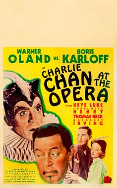 charlie chan movie posters   Pop Culture Safari!: Vintage Charlie Chan movie posters and pictures