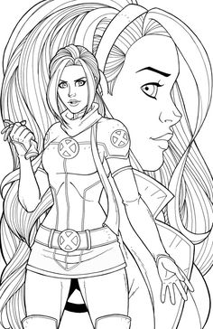 mary jane watson coloring pages - photo#25