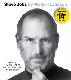 "#WednesdayWisdom Steve Jobs by Walter Isaacson Based on more than forty interviews with Jobs conducted over two years—in addition to interviews with more than one hundred family members, friends, adversaries, competitors, and colleagues—Isaacson was given ""unprecedented"" access to Jobs's life. Jobs is said to have encouraged the people interviewed to speak honestly."