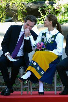 Princess Madeleine and fiancé Chris O'Neill