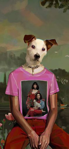 Gucci inserts necklace of head of picture brand dog Wallpapers for iPhone X, iPhone XS and iPhone XS Max - Free Wallpaper | Download Free Wallpapers