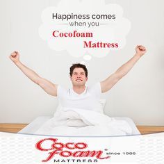 Good #Sleep Reduces the Release of Stress Hormones And Makes You Feel #Happy. For more sleep related information. visit:www.cocofoam.in