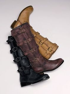 BOOTS BOOTS BOOTS! - Click image to find more Women's Fashion Pinterest pins