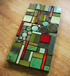 quilting inspiration from clay mosaic