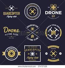 Aerial Camera Drone Logo