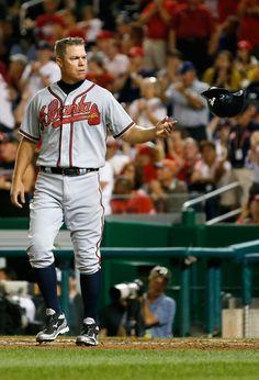 Chipper Jones Photo - Atlanta Braves v Washington Nationals