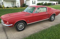 1967 Mustang Fastback, S-code 390 4v/C6 auto