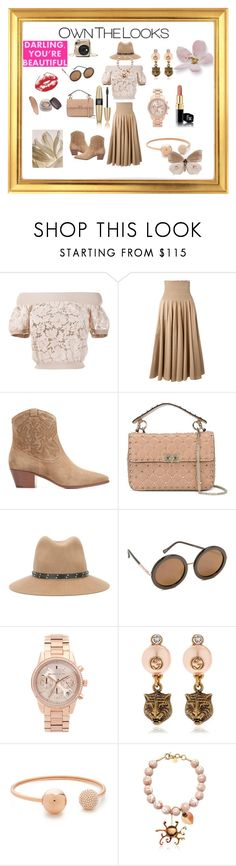"""Glorious ..."" by jamuna-kaalla ❤ liked on Polyvore featuring Valentino, Twin-Set, Yves Saint Laurent, rag & bone, Sunday Somewhere, Michael Kors, Gucci, Valentina Brugnatelli, Victoria's Secret and vintage"