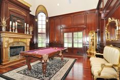 Real Housewives star Melissa Gorga lists New Jersey mansion after rows with Teresa Guidice Melissa Gorga, Wrought Iron Staircase, Retro Housewife, Game Room Decor, Mansions For Sale, Billiard Room, Real Housewives, Luxury Life, New Jersey