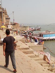 Váránasí. Gháty a Ganga