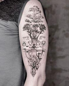 Wicked Tattoos, Dope Tattoos, Unique Tattoos, Leg Tattoos, Body Art Tattoos, Tattoos For Guys, Tattoos For Women, Arm Tattoo, Best Sleeve Tattoos