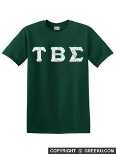 5ea1ee5590b Buy Tau Beta Sigma Letter Shirt + Low Price