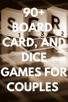 Best 94 Board, Card, and Dice Games for Couples to Play Together 2020 (Variety of Sex, Two-Person Player, Fun Family Nig Board Games For Two, Board Games For Couples, Couple Games, Couple Fun, Drinking Games For Couples, Fun Drinking Games, Two Player Drinking Games, Group Games For Kids, Games For Teens