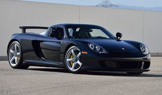 605 hp Porsche Carrera GT with 5.7L V-10 engine and only 152 original miles now up for sale.
