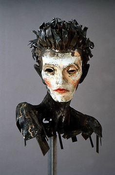 Egon Schiele sculpture by Al Farrow