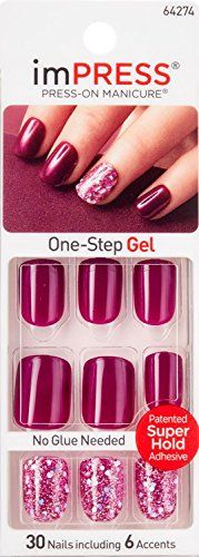KISS imPRESS GOSSIP GIRL by Broadway PressOn Manicure Nails >>> Want to know more, click on the image. (This is an affiliate link) #FalseNails