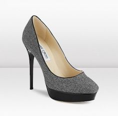 Jimmy Choo Cosmic Flannel & Patent Pump. Dropped 55% on Feb 28.