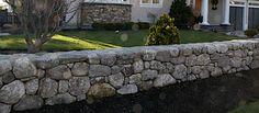 stone walls landscaping   Stone Walls