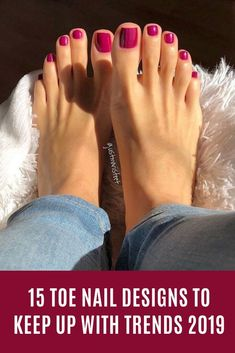 15 toe nail designs to keep up with trends 2019 nails toenail fashion toenaildesigns nailart cute shortnails 21 beautiful wedding pedicure ideas for brides Pretty Toe Nails, Cute Toe Nails, Cute Toes, Pretty Toes, Beautiful Toes, Pretty Pedicures, Pedicure Colors, Manicure Y Pedicure, Pedicure Ideas