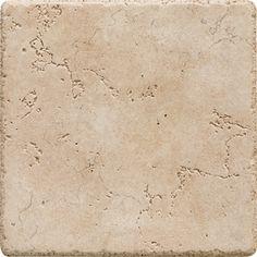 Del Conca Rialto Beige Thru-Body Porcelain Indoor/Outdoor Wall Tile (Common: 6-in x 6-in; Actual: 5.91-in x 5.91-in)