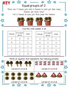 GO MATH ALIGNED 2ND GRADE GETTING READY FOR 3RD GRADE SUMMER THEMED PACKET - TeachersPayTeachers.com