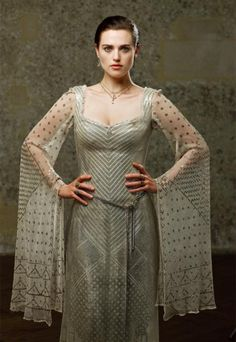 """From the show """"Merlin."""" Don't watch the show but love the assuit gown!"""