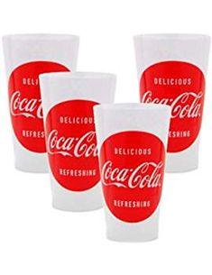 Coca-Cola Tumblers Script - set of 4