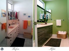 Boys Bathroom Renovation Before And After